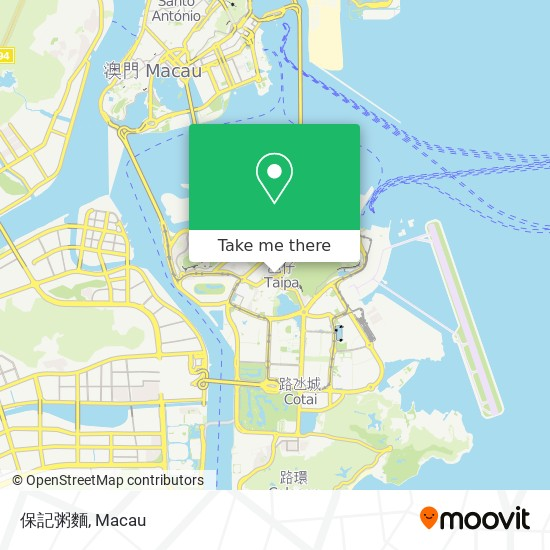 保記粥麵 map