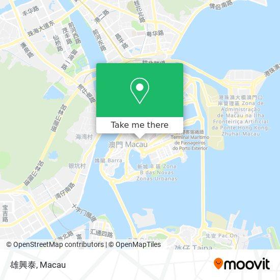 雄興泰 map