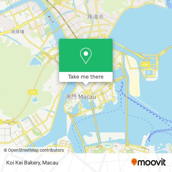 Koi Kei Bakery map
