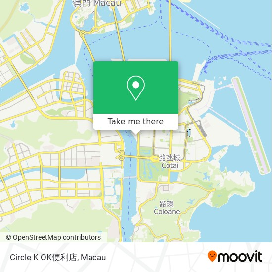 Circle K OK便利店 map