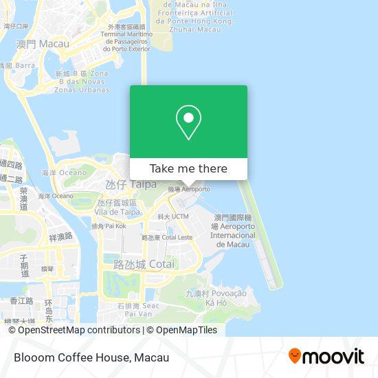 Blooom Coffee House map