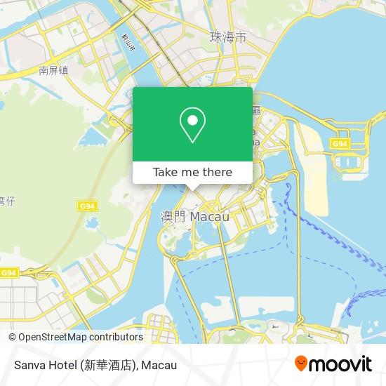 Sanva Hotel (新華酒店) map