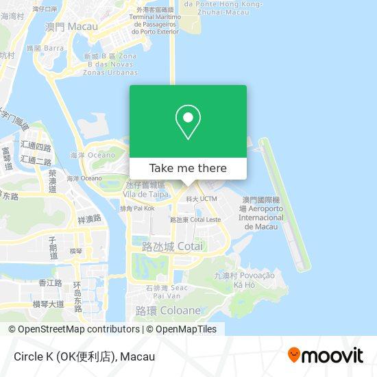 Circle K (OK便利店) map