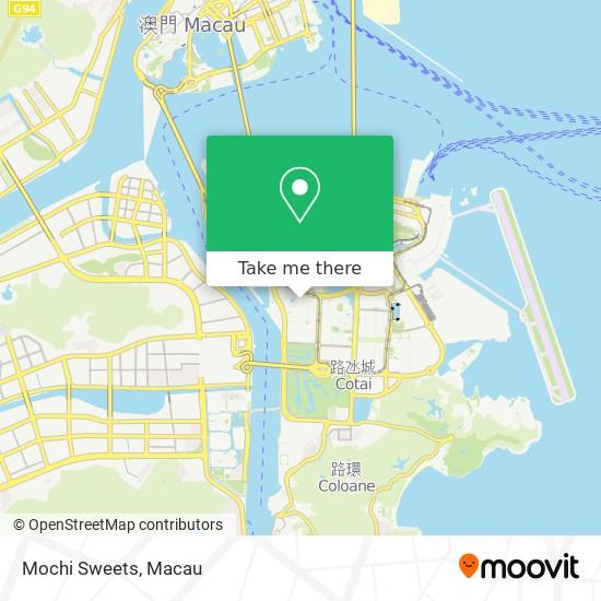 Mochi Sweets map