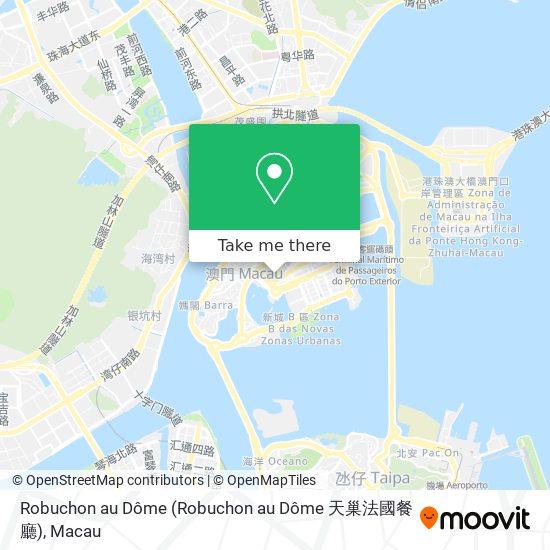 Robuchon au Dôme map