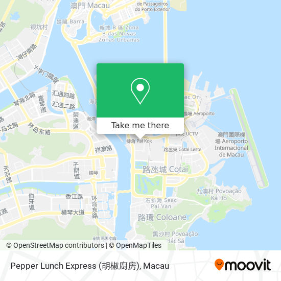 Pepper Lunch Express (胡椒廚房) map
