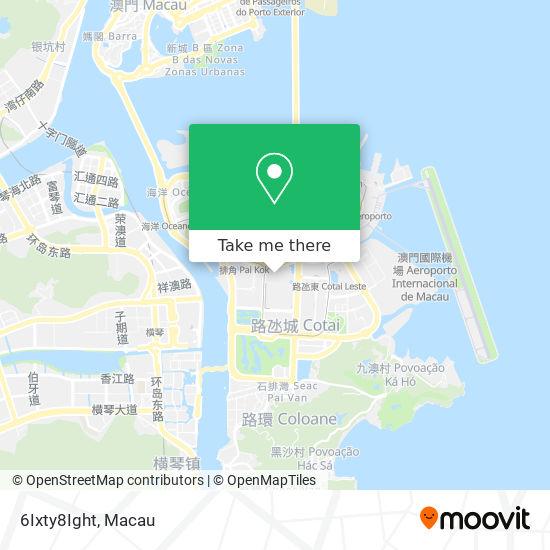 6Ixty8Ight map