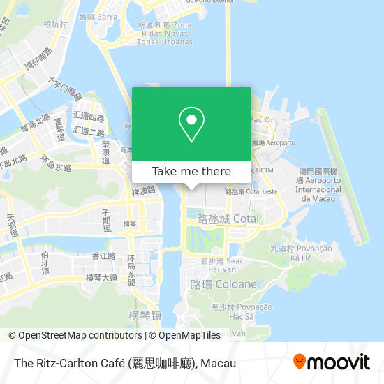 The Ritz-Carlton Café (麗思咖啡廳) map