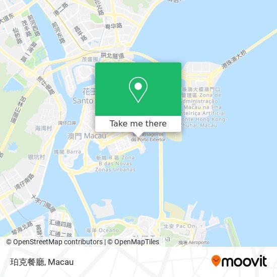 珀克餐廳 map