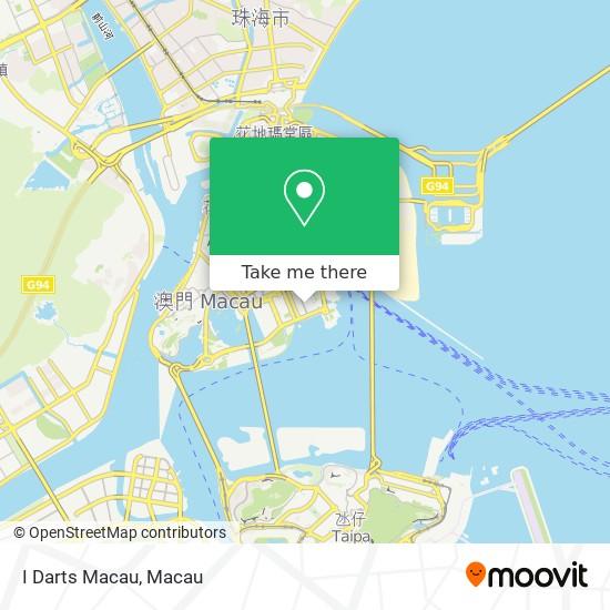 I Darts Macau map