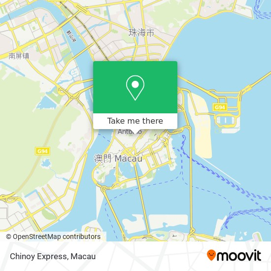 Chinoy Express map