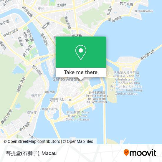 菩提堂(石獅子) map
