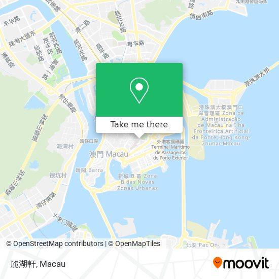 麗湖軒 map