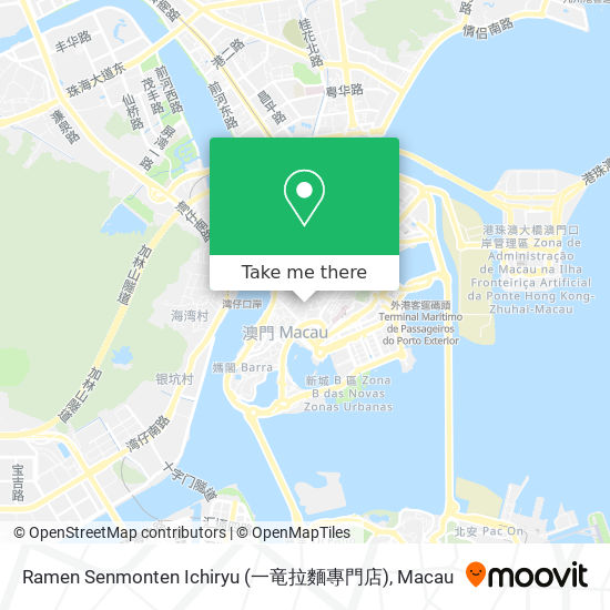 Ramen Senmonten Ichiryu (一竜拉麵專門店) map
