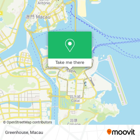 Greenhouse map