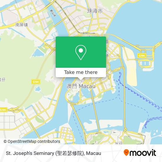 St. Joseph's Seminary (聖若瑟修院) map