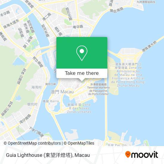 Guia Lighthouse (東望洋燈塔) map