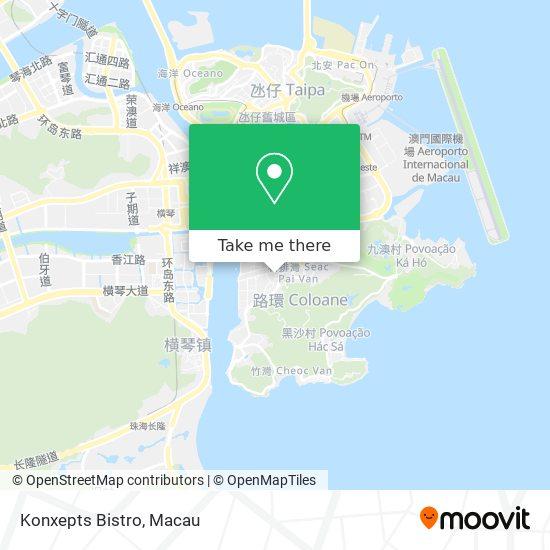 Konxepts Bistro map