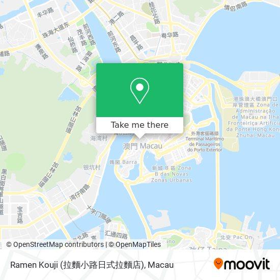 Ramen Kouji (拉麵小路日式拉麵店) map
