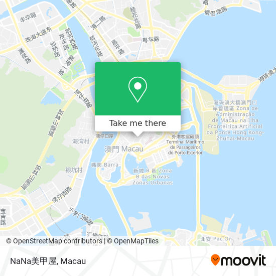 NaNa美甲屋 map