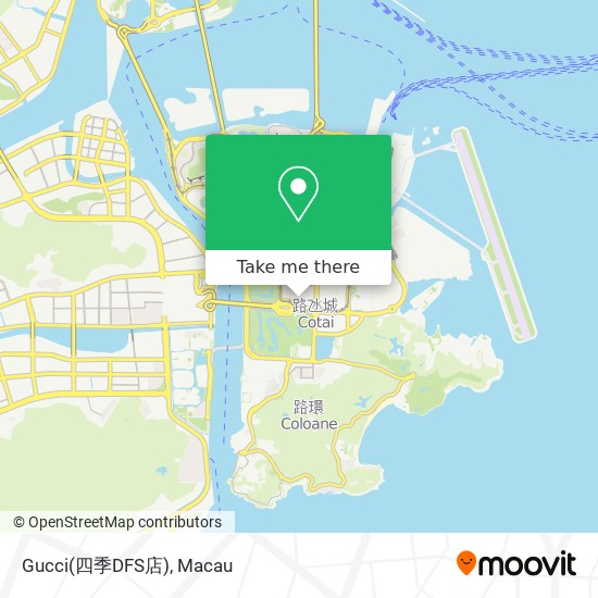 Gucci(四季DFS店) map