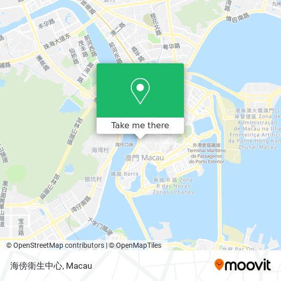 海傍衛生中心 map