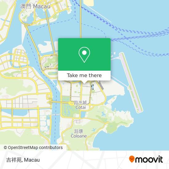 吉祥苑 map