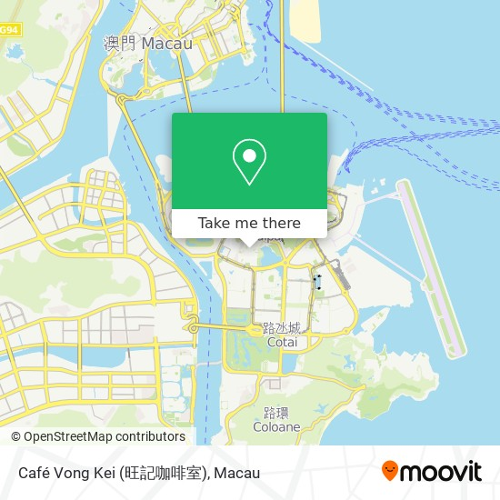 Café Vong Kei (旺記咖啡室) map