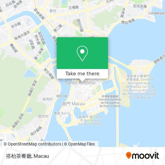搭枱茶餐廳 map