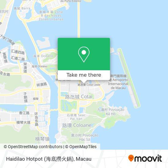 Haidilao Hotpot (海底撈火鍋) map