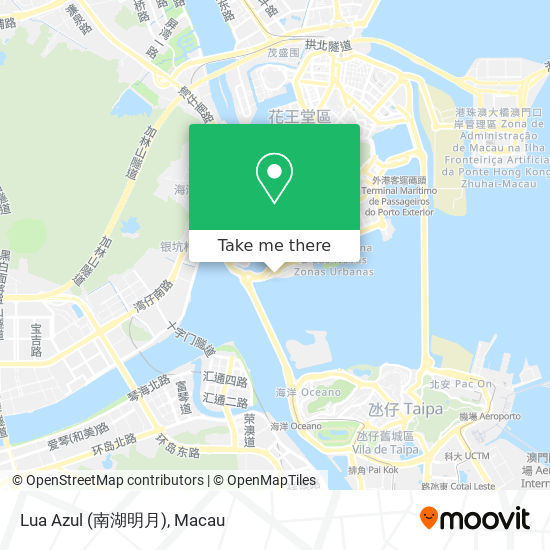 Lua Azul (南湖明月) map