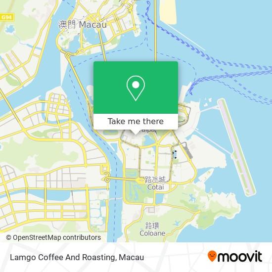 Lamgo Coffee And Roasting map