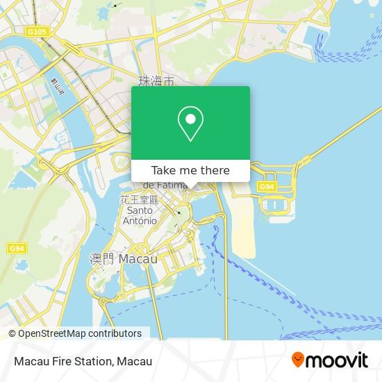 Macau Fire Station map