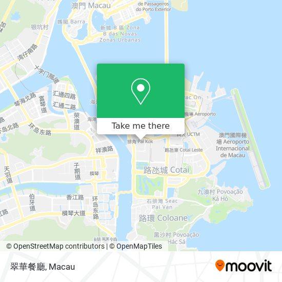 翠華餐廳 map