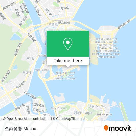 金爵餐廳 map
