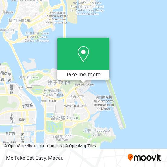 Mx Take Eat Easy map