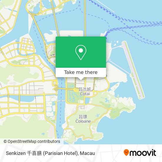 Senkizen 千喜膳 (Parisian Hotel) map