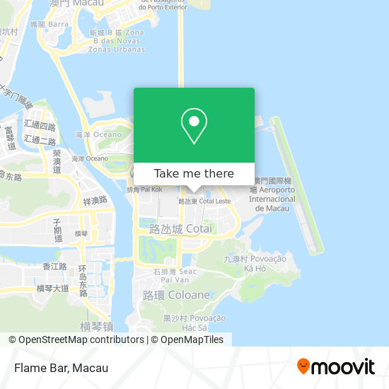 Flame Bar map