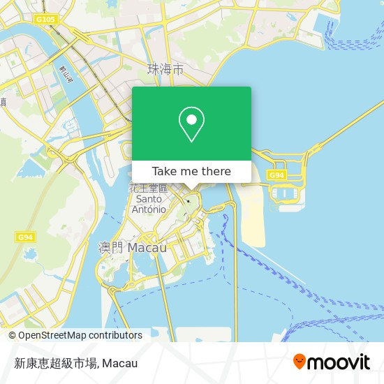 新康恵超級市場 map