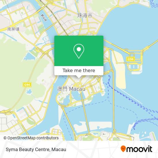 Syma Beauty Centre map