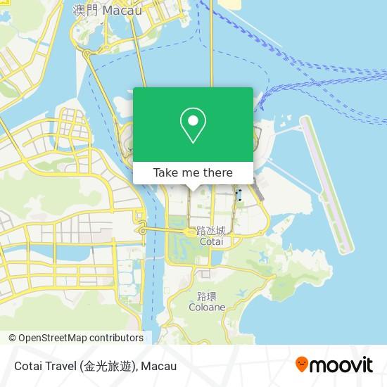 Cotai Travel (金光旅遊) map