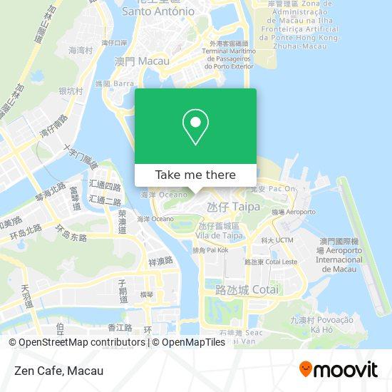 Zen Cafe map