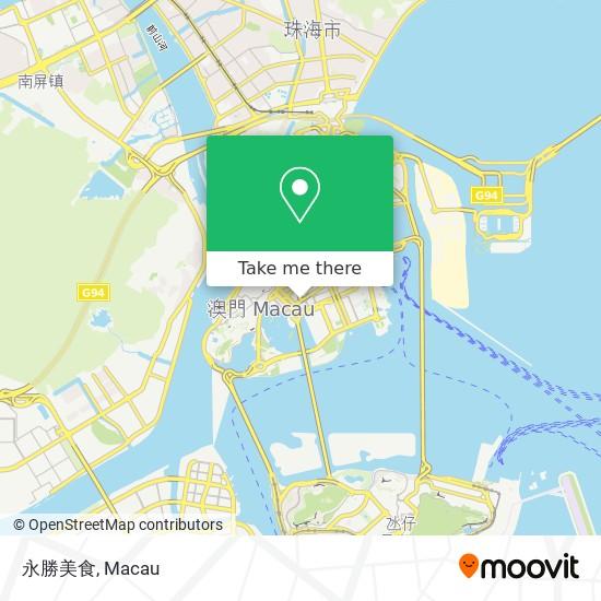 永勝美食 map