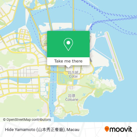 Hide Yamamoto (山本秀正餐廳) map