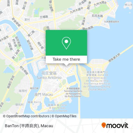 BanTon (半蹲廚房) map