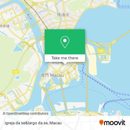 igreja da se&largo da se map