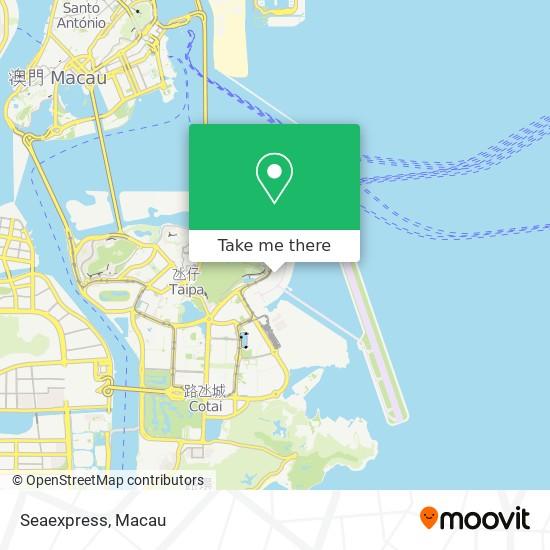 Seaexpress map