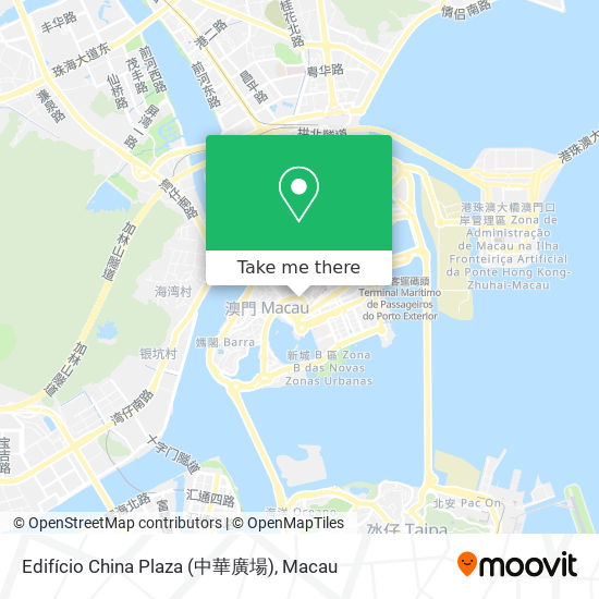 Edifício China Plaza (中華廣場) map