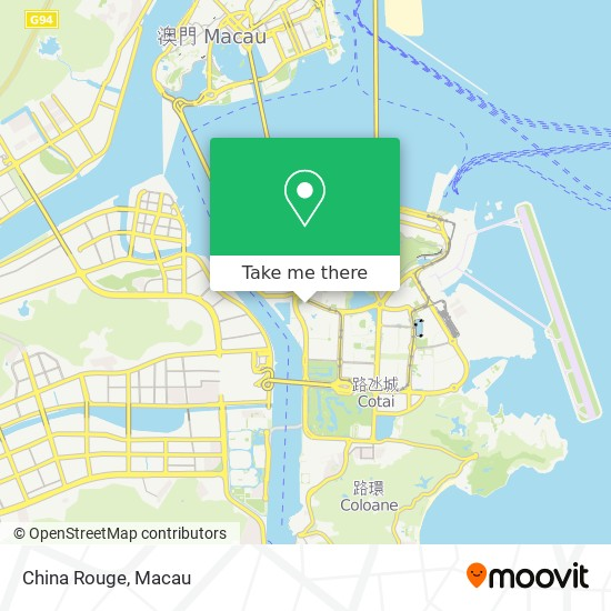 China Rouge map