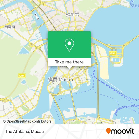 The Afrikana map